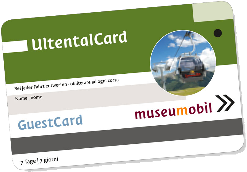 Gratis UltentalCard at the Oberparthenhof